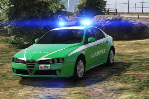Carabinieri Forestali - Alfa Romeo 159
