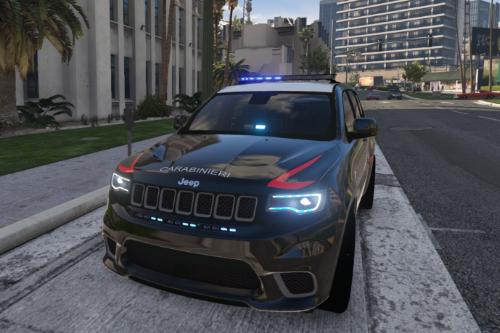 Carabinieri - Jeep Grand Cherokee Trackhawk (Antiterrorismo)
