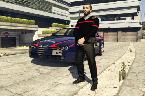 Carabinieri Maglione e camicia per Michael