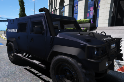 Carabinieri - PACK IVECO LINCE GIS / Forze Armate