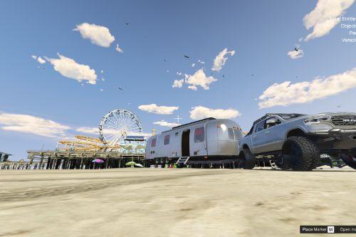 Whiteliner Caravan [Menyoo]