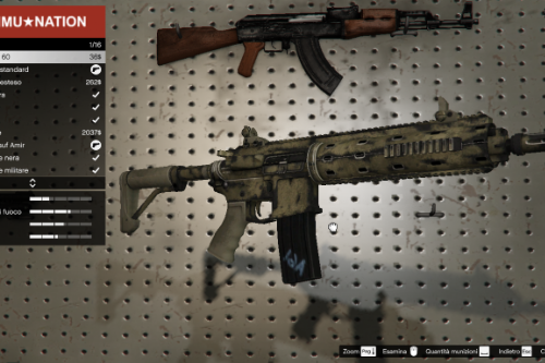 Carbine Rifle Desert Skin