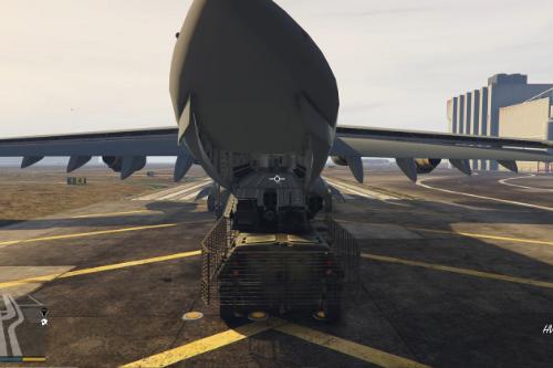 Cargo Aircraft Control