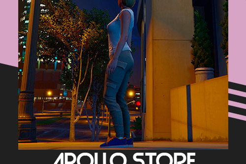 Cargo Pants for MP Female