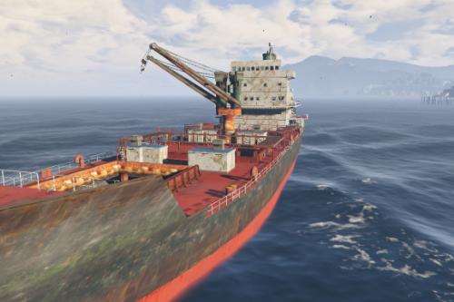Cargo Ship [Menyoo]