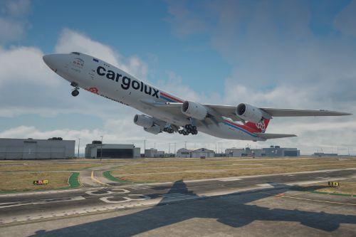 Cargolux 747-8F Livery Pack