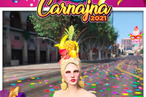 Carmen Miranda Carnival Hat for MP Female