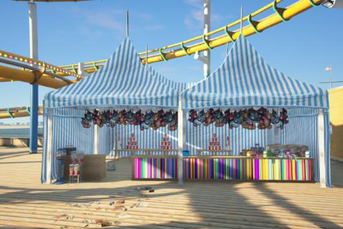 Carnival Game Tent [Add-On SP / FiveM]