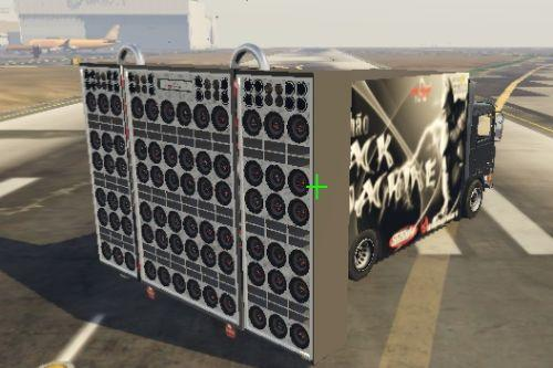Truck/Caminhão Sound/Som Black Machine Add-on