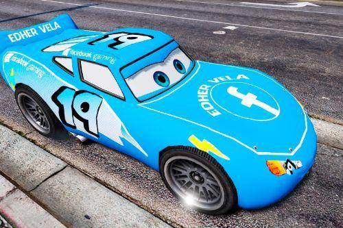 Cars 3 Rayo McQueen Facebook Paintjob