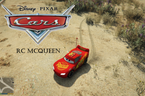 Cars RC McQueen [Add-On]