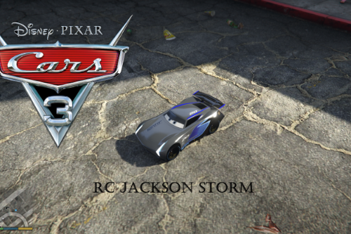 CARS3  RC JACKSON STORM  [ADD-ON]