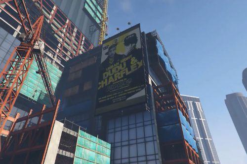 Cartel / Billboard LFAM Madrid. [FiveM / SP]