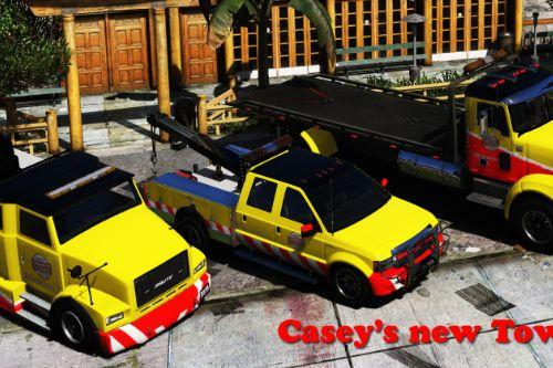 Casey's new Towing vehicles pack [ Add-On (OIV) / Replace | Template | LODS | Unlocked]