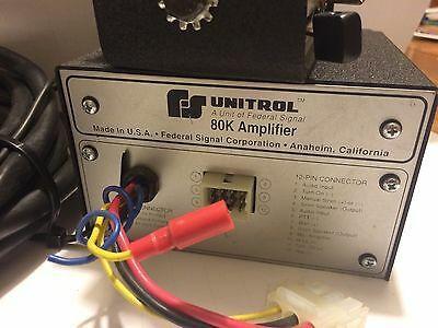 Cayden's Federal Signal Unitrol 80k