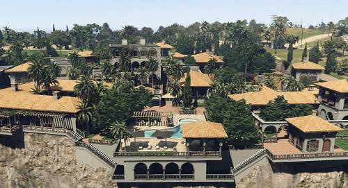 Cayo Perico Mansion Retextured