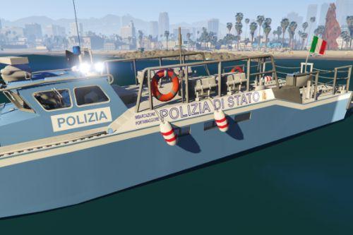 CB-90 Polizia di stato - Barca