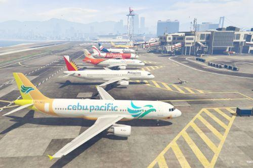Philippine Liveries Pack for Airbus A320-200