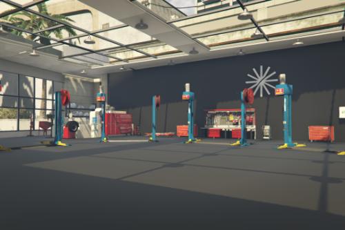 Central LSC Garage whit office [YMAP]