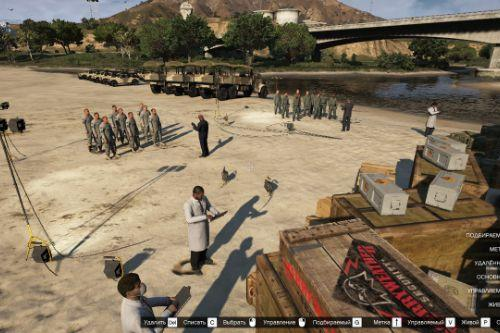 Ceremony army Ford Zancudo[Map editor][.XML]