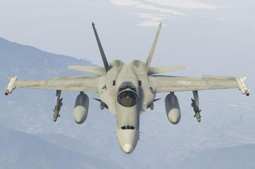 CF-18A Hornet Royal Canadian Air Force [Add-On / Replace]