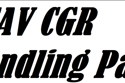 CGR Handling Pack