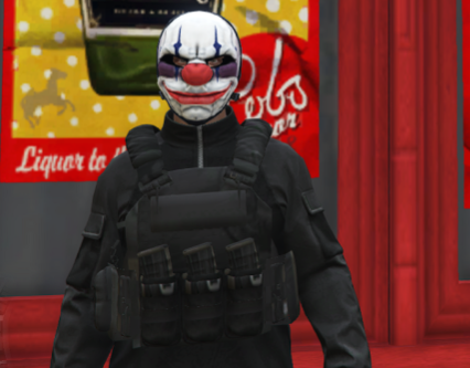 Chains Payday2 mask for MP Male