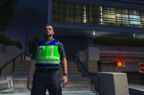 Chaleco Reflectante CNP Policia Nacional
