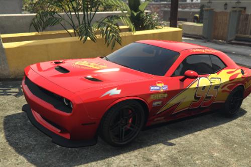 Challenger McQueen Livery
