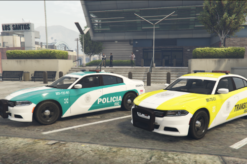 Charger Policía CDMX Livery