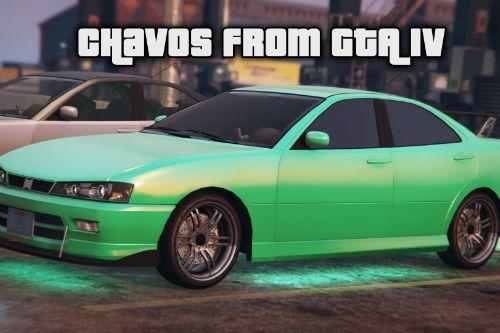 Chavos from GTA IV [Add-On / Replace]