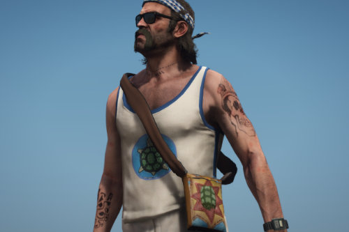 Chelonian Trevor Clothing and Tattoo Pack