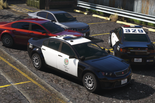 Cheval Fugitive - LSPD [Add-On]