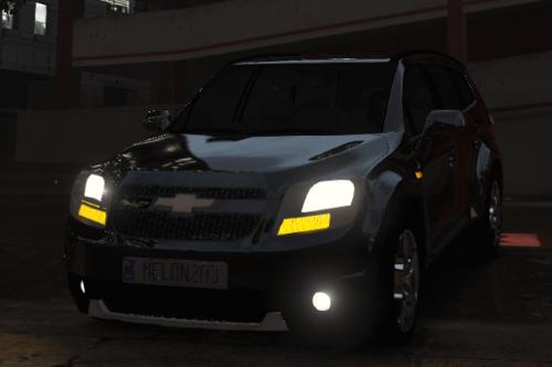 Chevrolet Orlando 2011 (Korean version) [Replace / FiveM]