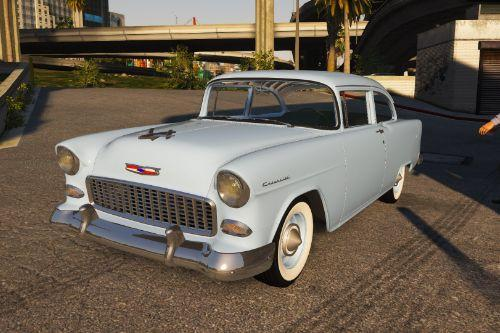 1955 Chevrolet 150 [Add-On | LODs | Template]