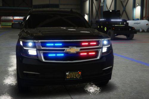 Chevrolet 2016 Suburban LTZ secret service Armored [Add-On]