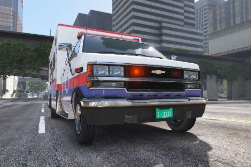 Chevrolet Badge For Ambulance