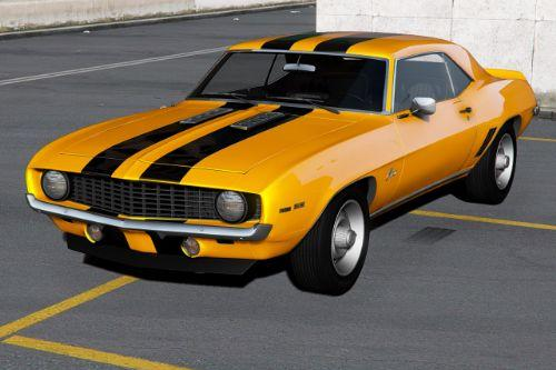 Chevrolet Camaro SS '69 [Add-On | Extras | Tuning | Template]