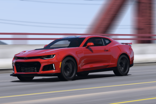 Chevrolet Camaro ZL1 2017 [Add-On / Replace | Animated | Template]