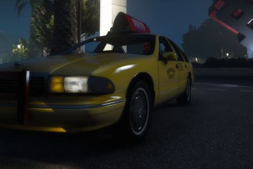 Chevrolet Caprice 1993 San Andreas Cab [Replace | LODS]