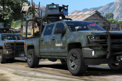 Chevrolet Cheyenne 2017 Armored (SEDENA) [Add-On | FiveM]