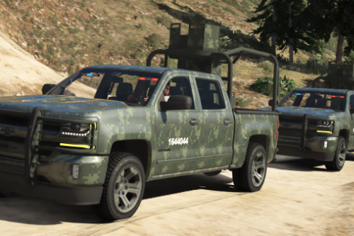 Chevrolet Cheyenne 2017 (SEDENA) [Add-On | Replace]