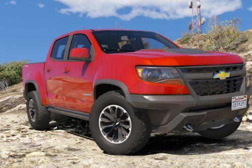 Chevrolet Colorado ZR2 2017 [Add-On / Replace, LOD's]