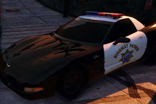Chevrolet Corvette C5 Z06 SAHP/ San Andreas Highway Patrol Skin
