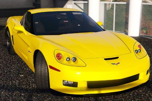 Chevrolet Corvette C6 Z06 2006 [Add-On | Template]
