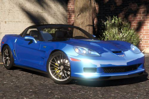 2009 Chevrolet Corvette ZR1 [Add-On | LODs | Extras | Template]