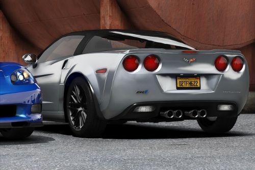 2009 Chevrolet Corvette ZR1 [Add-On   LODs   Extras   Template]