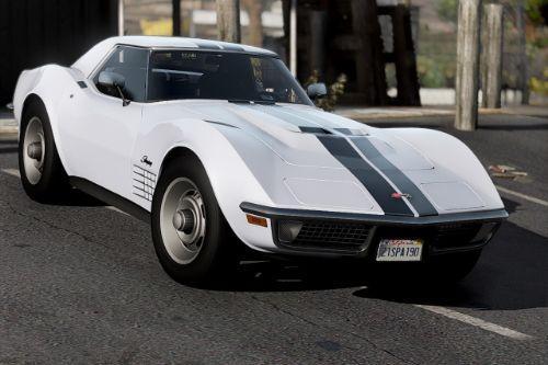 Chevrolet Corvette ZR1 (C3) 1970 [Add-On | Tuning | Template]