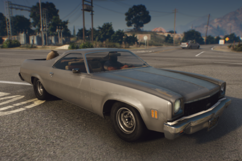 Chevrolet El Camino 1973 [Add-On / Replace | Animated | Template]