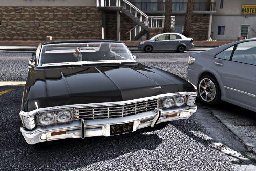 Chevrolet Impala 1967 (SUPERNATURAL series)[Replace]